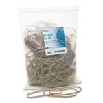 """AbilityOne 7510015783512 SKILCRAFT Rubber Bands, Size 117B, 0.06"""" Gauge, Beige, 1 lb Box, 250/Pack Product Image"""