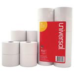 "Universal Impact & Inkjet Print Bond Paper Rolls, 0.5"" Core, 1.75"" x 138 ft, White, 10/Pack Product Image"