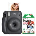 Fujifilm Instax Mini 11 Camera Bundle, Auto Focus, Charcoal Product Image