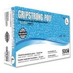 GripStrong Poly Foodservice Grade Polyethylene Gloves, Clear, Large, Polyethylene, 500/Box, 20 Boxes/Carton Product Image