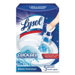 LYSOL Brand Click Gel Automatic Toilet Bowl Cleaner, Ocean Fresh, 6/Box, 4 Boxes/Carton Product Image