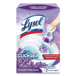LYSOL Brand Click Gel Automatic Toilet Bowl Cleaner, Lavender Fields, 6/Box, 4 Boxes/Carton Product Image