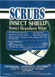 ITW Pro Brands Insect Shield Insect Repellent Wipes, 8 in x 10 in, 0.4 oz, Single Premoistened Wipe Packets Product Image