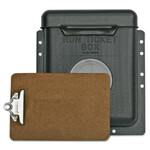 Gearench PETOL Run Ticket Boxes w/Hinged Lid, 1-1/2 lbs., Polyethylene Product Image