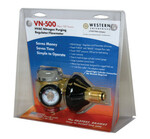 Western Enterprises VN Series HVAC Nitrogen-Purging Regulators/Flowmeters, Nitrogen, 35 CFH, CGA-580 312-VN-250 Product Image