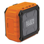 KLEIN TOOLS Wireless Jobsite Speakers, Bluetooth, Battery, Aux Product Image