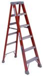 Louisville Ladder FS1500 Series Fiberglass Step Ladder, 2 ft x 17 in, 300 lb Capacity Product Image