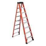 Louisville Ladder FS1400HD Series Brute 375 Fiberglass Step Ladder, 8 ft x 24 7/8 in, 375 lb Cap. Product Image