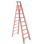Louisville Ladder FS1500 Series Fiberglass Step Ladder, 10 ft x 27 7/8 in, 300 lb Capacity Product Image