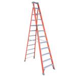 Louisville Ladder FS1500 Series Fiberglass Step Ladder, 12 ft x 30 7/8 in, 300 lb Capacity Product Image