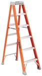 Louisville Ladder FS1500 Series Fiberglass Step Ladder, 6 ft x 21-7/8 in, 300 lb Capacity Product Image