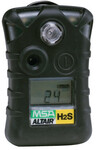 MSA ALTAIR Single-Gas Detector, Hydrogen Sulfide (H2S), 0 to 100 ppm Sensor Range, Audible/Visual/Vibrating Alarm Type Product Image