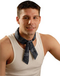 OccuNomix MiraCool Neck Bandanas, 1-11/16 in W x 34.75 in L, Cowboy Blue Product Image
