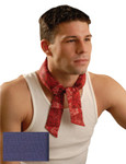 OccuNomix MiraCool Neck Bandana, 1-11/16 in W x 34.75 in L, Navy Product Image