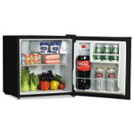 Alera 1.6 Cu. Ft. Refrigerator with Chiller Compartment, Black Product Image