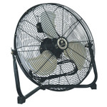 TPI Corp. Commercial Floor Fans, 18 in, 1/5 hp, Steel Product Image
