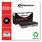 Innovera Compatible Black Thermal Transfer Print Cartridge, Replacement for Brother PC501, 150 Page-Yield Product Image