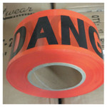 Anchor Products Economy Barrier Tape, 3 in x 1,000 ft, Red, Danger Product Image
