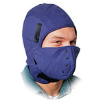 Honeywell Heavy Duty Deluxe Hard Hat Winter Liner, Cotton, Royal Blue Product Image
