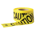 Anchor Products Economy Barrier Tape, 3 in x 1,000 ft, Yellow, Caution Product Image