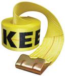 "Keeper Winch Strap, 30'x4"" 15,000 lbs w/Flat Hook Product Image"