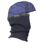 Jackson Safety 325 Ultra Winter Liner, Cotton Twill/Nylon Knit, Polyester Fleece Lining, Blue Product Image