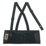 Ergodyne ProFlex 1650 Economy Elastic Back Supports, Small, Black Product Image
