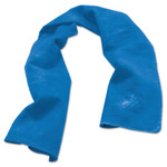 Ergodyne Chill-Its 6602 Evaporative Cooling Towels, 13 1/2 in X 29 1/2 in, Solid Blue Product Image