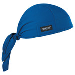 Ergodyne Chill-Its 6615 High-Performance Dew Rags, 6 in X 20 in, Solid Blue Product Image
