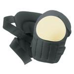CLC Custom Leather Craft Plastic Cap Swivel Kneepads, Hook and Loop, Black/White Product Image