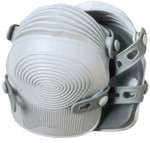 CLC Custom Leather Craft Ultra-Flex Non-Skid Professional Kneepads, Synthetic Rubber Straps, Light Gray Product Image