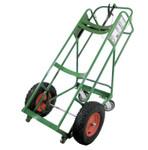 """Anthony Cryogenic Use Single-Cylinder Carts, 46 x 28"""", 16 x 4"""" Solid Wheels Product Image"""