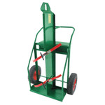 """Anthony Heavy-Duty Reinforced Frame Dual-Cylinder Carts, 16"""" Pneumatic Wheels Product Image"""