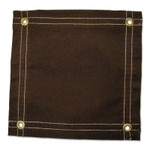 Anchor Products Protective Tarp, 10 ft W x 12 ft L, Water Resistant, Canvas, Brown Product Image