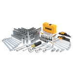 DeWalt Mechanics Tools Set; 168 pc; 1/4 in; 1/2 in and 3/8 in Drive Product Image
