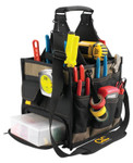 CLC Custom Leather Craft Soft Side Tool Bags, 23 Compartments, 19 in X 10 in Product Image