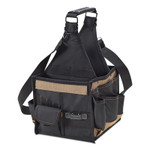 CLC Custom Leather Craft Electrical  Maintenance Tool Carriers, 25 Compartments, 8 in L x 8 in W x 16 in H Product Image