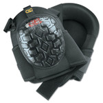 CLC Custom Leather Craft Professional Gel Kneepads, Elastic Upper Straps w/ Buckle-Style Fasteners, Black Product Image
