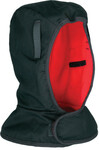 Ergodyne Light Duty Winter Liners, Cotton Twill, Polyester Fleece Lining, Black/Orange Product Image