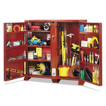 Apex Tool Group Extra Heavy-Duty Cabinets, 60 1/8W x 24 1/4D x 60 3/4H, 2 Doors Product Image