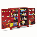 Apex Tool Group Extra Heavy-Duty Cabinets, 60-1/8W x 30-1/4D x 60-3/4H, 2 Doors Product Image