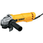 DeWalt Small Angle Grinders, 4 1/2 in Dia., 11A, 11,000 rpm,  Paddle Switch Product Image