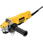 DeWalt Small Angle Grinders, 4 1/2 in Dia, 9A, 12,000 rpm, Lock-On; Paddle Switch Product Image