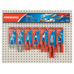 Apex Tool Group Mixed Slip Joint and Solid Joint Pliers Displays, 14 Pieces Product Image