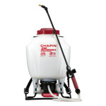 Chapin Rechargeable Backpack Sprayers, 4 gal, 48 in Hose, 20 in Wand, 35-40 psi Product Image