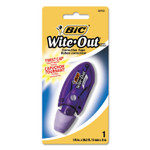 """BIC Wite-Out Brand Mini Correction Tape, Non-Refillable, 1/5"""" x 236"""" Product Image"""