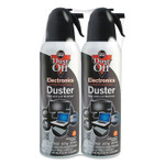Dust-Off Disposable Compressed Gas Duster, 7 oz Can, 2/Pack Product Image