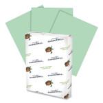 Hammermill Fore Multipurpose Print Paper, 20 lb, 8.5 x 14, Light Green, 500/Ream Product Image