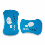IdeaPaint Big Boy Foam Dry Erase Whiteboard Erasers, 6.81 x 5.43 x 1.38, 2/Pack Product Image