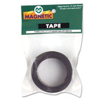 """Magna Visual Magnetic/Adhesive Tape, 1"""" x 4 ft Roll Product Image"""